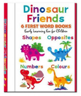 Omslag - Dinosaur Friends - 6 First Word Books