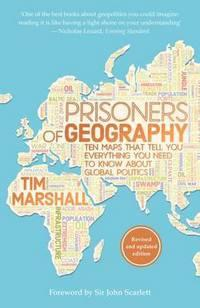 Prisoners of geography av Tim Marshall (Heftet)