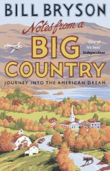 Omslag - Notes from a big country - journey into the american dream
