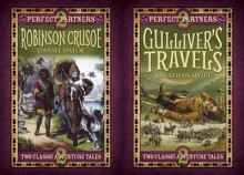 Perfect Partners: Gulliver's Travels & Robinson Crusoe av Jonathan Swift og Daniel Defoe (Innbundet)