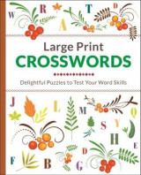 Omslag - Large Print Crosswords