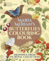 Omslag - Maria Merian's Butterflies Colouring Book