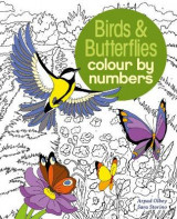 Omslag - Colour by Numbers Birds & Butterflies