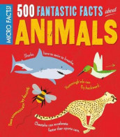 Micro Facts! 500 Fantastic Facts About Animals av Clare Hibbert (Heftet)