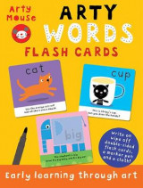 Omslag - Arty Words Flash Cards