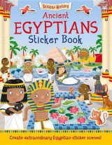 Omslag - Ancient Egyptians Sticker Book