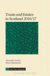 Omslag - Trusts and Estates in Scotland 2016/17 2016/17