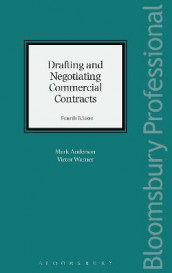 Drafting and Negotiating Commercial Contracts av Mark Anderson og Victor Warner (Innbundet)