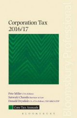 Omslag - Core Tax Annual: Corporation Tax 2016/17