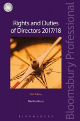 Omslag - Rights and Duties of Directors 2017/18