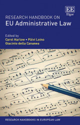 Omslag - Research Handbook on EU Administrative Law