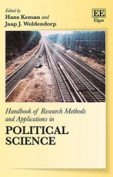 Omslag - Handbook of Research Methods and Applications in Political Science