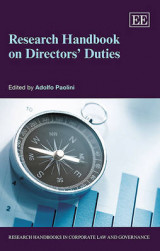 Omslag - Research Handbook on Directors' Duties