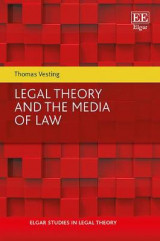 Omslag - Legal Theory and the Media of Law