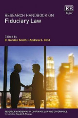 Omslag - Research Handbook on Fiduciary Law