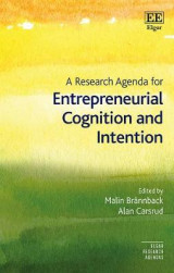 Omslag - A Research Agenda for Entrepreneurial Cognition and Intention