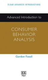 Omslag - Advanced Introduction to Consumer Behavior Analysis