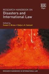 Omslag - Research Handbook on Disasters and International Law