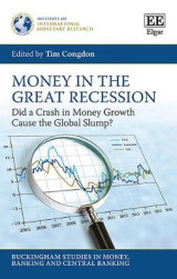 Omslag - Money in the Great Recession
