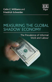 Measuring the Global Shadow Economy av Friedrich Schneider og Colin C. Williams (Innbundet)