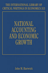 Omslag - National Accounting and Economic Growth