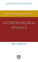 Omslag - Advanced Introduction to Entrepreneurial Finance