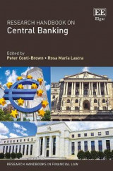 Omslag - Research Handbook on Central Banking