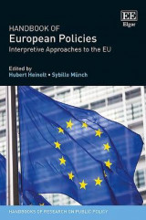 Omslag - Handbook of European Policies
