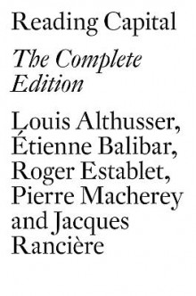 Reading Capital av Louis Althusser og Etienne Balibar (Heftet)