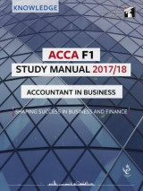 Omslag - ACCA F1 Accountant in Business Study Manual