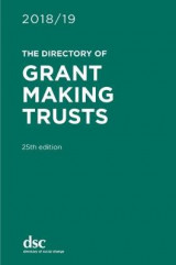 Omslag - The Directory of Grant Making Trusts 2018/19