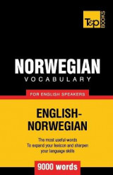 Omslag - Norwegian Vocabulary for English Speakers - 9000 Words