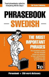 Omslag - English-Swedish Phrasebook and 250-Word Mini Dictionary
