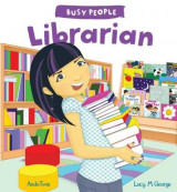 Omslag - Busy People: Librarian