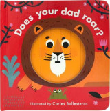 Omslag - Little Faces: Does Your Dad Roar?