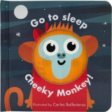 Omslag - Little Faces: Go to Sleep, Cheeky Monkey