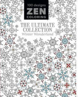Omslag - Zen Coloring - The Ultimate Collection Winter Wonderland