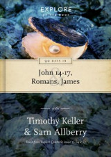 Omslag - 90 Days in John 14-17, Romans and James