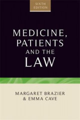 Omslag - Medicine, Patients and the Law