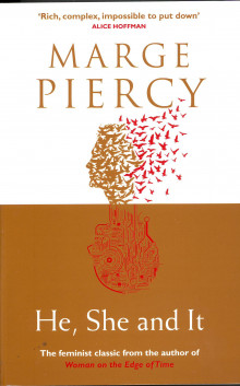 He, She and it av Marge Piercy (Heftet)