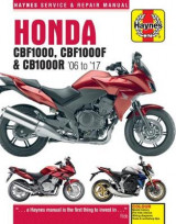 Omslag - Honda CBF1000 & CBR1000R Service and Repair Manual