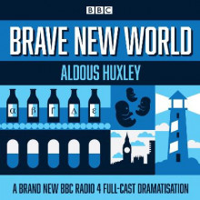 Brave New World av Aldous Huxley (Lydbok-CD)