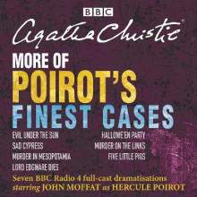 More of Poirot's Finest Cases av Agatha Christie (Lydbok-CD)