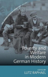 Omslag - Poverty and Welfare in Modern German History