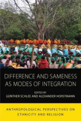 Omslag - Difference and Sameness as Modes of Integration