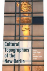 Omslag - Cultural Topographies of the New Berlin