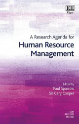 Omslag - A Research Agenda for Human Resource Management