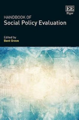 Omslag - Handbook of Social Policy Evaluation
