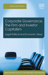Omslag - Corporate Governance, the Firm and Investor Capitalism