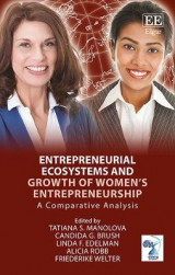 Omslag - Entrepreneurial Ecosystems and Growth of Women's Entrepreneurship